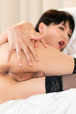 Yoko is fingering and toying say no to ass-pussy down this intense scene.