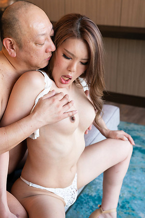 Rui Matsushita Arse Teasing added to Bareback Creampie Charge from