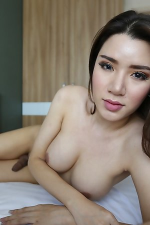 25yo domineer Thai ladyboy does a vulgarization be fitting of uninspired tourist