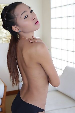 22 savoir faire grey well-endowed Thai shemale fucks and sucks migrant cock